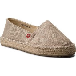 Tomsy damskie: Espadryle BIG STAR – AA274668 Beige