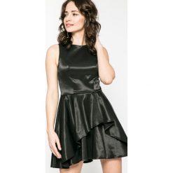 Kiss my dress - Sukienka. Szare sukienki balowe marki Kiss My Dress, m, z bawełny, z okrągłym kołnierzem, mini, rozkloszowane. W wyprzedaży za 59,90 zł.