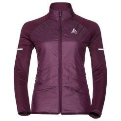 Odlo Kurtka damska Jacket hybrid seamless Irbis fioletowa r. S (370981). Fioletowe kurtki sportowe męskie marki Reserved, l, z bawełny. Za 492,00 zł.