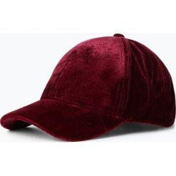 Czapki damskie: Marie Lund - Damska czapka z daszkiem, czerwony