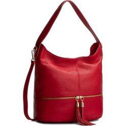 Torebka CREOLE - K10212 Czerwony. Czerwone torebki klasyczne damskie Creole, ze skóry. W wyprzedaży za 219,00 zł.