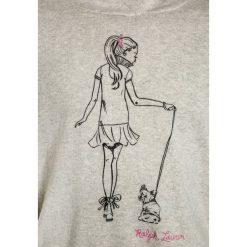Polo Ralph Lauren PRINTED HOOD Bluza z kapturem light sport heather. Szare bluzy dziewczęce rozpinane Polo Ralph Lauren, z bawełny, z kapturem. W wyprzedaży za 351,20 zł.