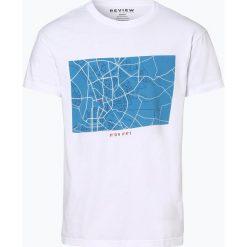 Review - T-shirt męski, czarny. Czarne t-shirty męskie z nadrukiem Review, m, z bawełny. Za 29,95 zł.