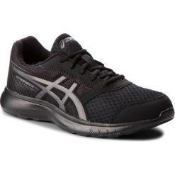 Buty ASICS - Stormer 2 T843N Black/Black 001. Czarne buty do biegania męskie Asics, z materiału. W wyprzedaży za 169,00 zł.