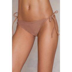Bikini: NA-KD Swimwear Dół bikini Triangle - Pink,Beige,Nude