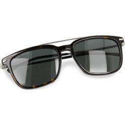 Okulary przeciwsłoneczne BOSS - 0930/S Dark Havana 086. Brązowe okulary przeciwsłoneczne damskie lenonki marki Boss, z tworzywa sztucznego. W wyprzedaży za 529,00 zł.