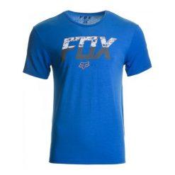 T-shirty męskie: FOX T-Shirt Męski Katch Ss Tech Xxl Niebieski