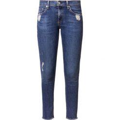 Rag & bone Jeans Skinny Fit stone blue denim. Niebieskie boyfriendy damskie rag & bone, z bawełny. Za 1029,00 zł.