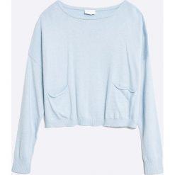 Mek - Sweter dziecięcy 128-170 cm. Różowe swetry dziewczęce marki Mayoral, z bawełny, z okrągłym kołnierzem. W wyprzedaży za 129,90 zł.