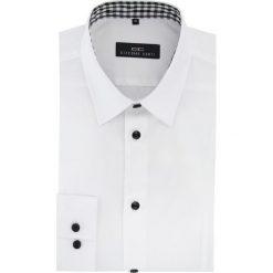 Koszula MICHELE 15-11-09-W. Czarne koszule męskie na spinki marki Cropp, l. Za 199,00 zł.