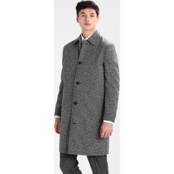 Topman Płaszcz wełniany /Płaszcz klasyczny black. Czarne płaszcze wełniane męskie marki Topman, m, klasyczne. W wyprzedaży za 407,20 zł.