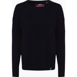 Superdry - Sweter damski z dodatkiem kaszmiru, niebieski. Niebieskie swetry klasyczne damskie Superdry, s, z dzianiny. Za 299,95 zł.