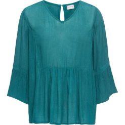 Bluzka tunikowa bonprix kobaltowy. Niebieskie bluzki z odkrytymi ramionami marki bonprix. Za 49,99 zł.