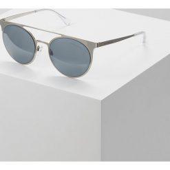 Emporio Armani Okulary przeciwsłoneczne silver. Szare okulary przeciwsłoneczne damskie lenonki Emporio Armani. Za 479,00 zł.