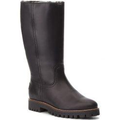 Kozaki PANAMA JACK - Tania B18 Napa Negro/Black. Czarne buty zimowe damskie Panama Jack, ze skóry. Za 789,00 zł.