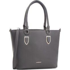 Torebka MONNARI - BAG0750-019 Grey. Brązowe torebki klasyczne damskie marki Monnari, w paski, z materiału, średnie. W wyprzedaży za 199,00 zł.