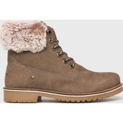 Wrangler - Buty Alaska. Szare buty sportowe damskie Wrangler, z materiału. Za 449,90 zł.
