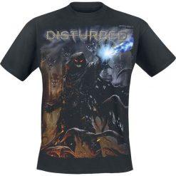 T-shirty męskie z nadrukiem: Disturbed Dark Messiah T-Shirt czarny