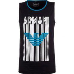 Bluzki dziewczęce bawełniane: Armani Junior CANOTTA Top blu