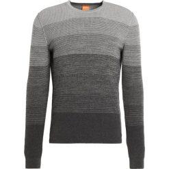 BOSS CASUAL AKATRUSCO Sweter light/pastel grey. Szare kardigany męskie marki BOSS Casual, m, z bawełny. W wyprzedaży za 377,30 zł.