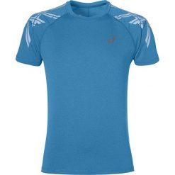Koszulka do biegania męska ASICS SHORT SLEEVE STRIPE TOP / 141199-8155 - ASICS SHORT SLEEVE STRIPE TOP. Niebieskie koszulki do biegania męskie marki Asics, m, z nadrukiem. Za 69,00 zł.