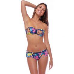 Stroje dwuczęściowe damskie: Dwuczęściowy wzorzysty kostium kąpielowy na ramiączkach