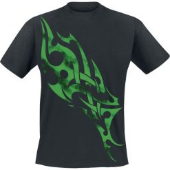 Green Smoky Tribal T-Shirt czarny. Czarne t-shirty męskie marki Green Smoky Tribal, xxl. Za 94,90 zł.