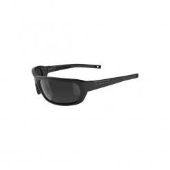 Okulary przeciwsłoneczne turystyczne HIKING 200 kat. 3. Czarne okulary przeciwsłoneczne damskie lenonki QUECHUA, z poliamidu. Za 39,99 zł.