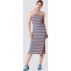 Trendyol Sukienka midi w paski - Multicolor. Szare sukienki na komunię marki Trendyol, na co dzień, z elastanu, casualowe, midi, dopasowane. W wyprzedaży za 50,48 zł.
