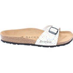 Buty damskie: Klapki w kolorze białym