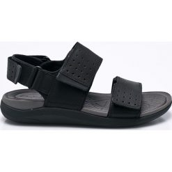 Clarks - Sandały Garratt Active. Czarne sandały męskie skórzane Clarks. W wyprzedaży za 269,90 zł.