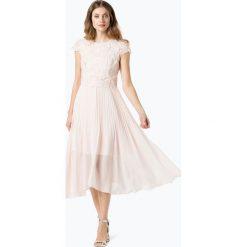 Coast - Damska sukienka wieczorowa – Darianna, różowy. Czerwone sukienki hiszpanki Coast, z szyfonu, wizytowe, dopasowane. Za 499,95 zł.