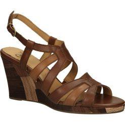 SANDAŁY CAPRICE 9-28305-2. Szare sandały damskie marki Caprice, z gumy. Za 149,99 zł.