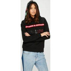 Silvian Heach - Bluza. Szare bluzy z kapturem damskie marki Silvian Heach, m, z aplikacjami, z bawełny. W wyprzedaży za 339,90 zł.