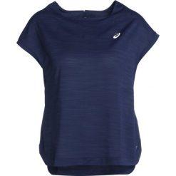 ASICS Tshirt basic indigo blue. Niebieskie topy sportowe damskie Asics, xs, z materiału. Za 169,00 zł.