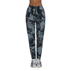 Bas Black Damskie spodnie Yank czarno-szare r. XL. Spodnie dresowe damskie Bas Black, xl. Za 134,90 zł.