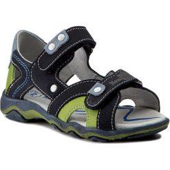 Sandały RENBUT - 21-3277 Jeans Zielony. Niebieskie sandały męskie skórzane marki RenBut. W wyprzedaży za 149,00 zł.