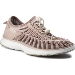 Sandały KEEN - Uneek O2 1018730 Etherea/Whitecap. Brązowe sandały damskie marki Keen, z materiału. W wyprzedaży za 259,00 zł.