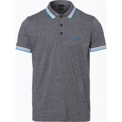 BOSS Athleisurewear - Męska koszulka polo – Paddy, czarny. Czarne koszulki polo BOSS Athleisurewear, m, w paski. Za 349,95 zł.