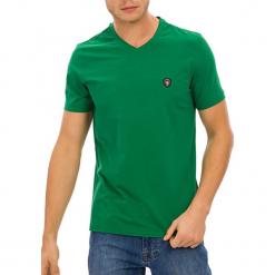 T-shirt w kolorze zielonym. Zielone t-shirty męskie GALVANNI, m. W wyprzedaży za 84,95 zł.