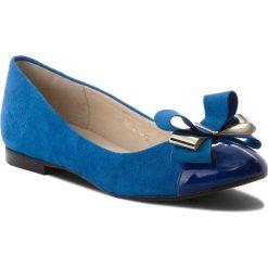 Baleriny SERGIO BARDI - Flumeri SS127347918TP 667. Niebieskie baleriny damskie lakierowane Sergio Bardi, ze skóry. W wyprzedaży za 159,00 zł.