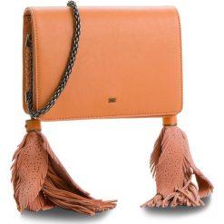 Torebka ELISABETTA FRANCHI - BS-54A-83E2 Rosa Antico. Brązowe torebki klasyczne damskie Elisabetta Franchi, ze skóry. W wyprzedaży za 679,00 zł.