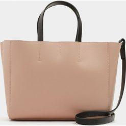 Shopper bag damskie: Koszyk shopper