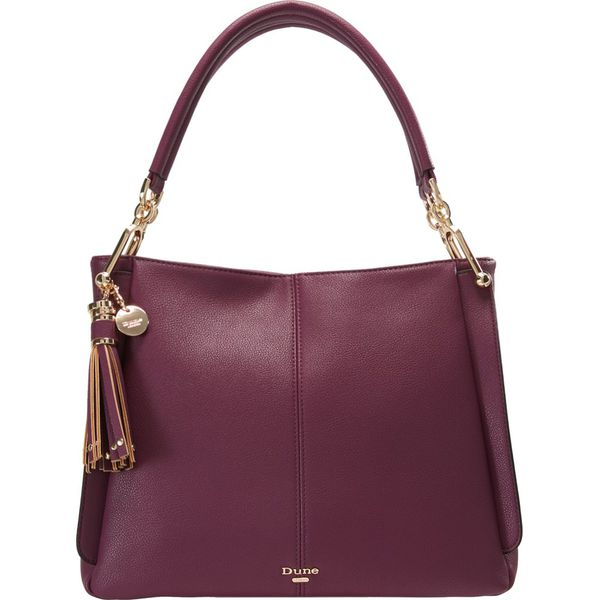 39bf818812e9e Dune London DINIDISOBELLE SMALL SLOUCH BAG Torebka berry - Czerwone ...