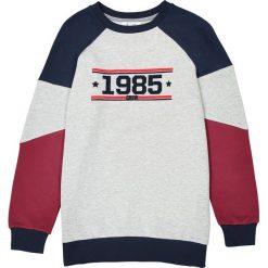 Bluza oversize styl sportowy 10-16 lat. Szare bluzy dziewczęce rozpinane La Redoute Collections, z bawełny, z długim rękawem, długie. Za 96,98 zł.