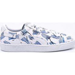 Puma - Buty Basket Shantell Martin. Szare buty sportowe damskie Puma, z gumy. W wyprzedaży za 299,90 zł.