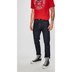 Levi's - Jeansy Hi-Ball. Brązowe jeansy męskie z dziurami marki Levi's®. Za 329,90 zł.