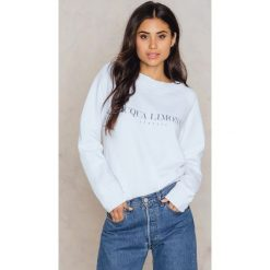 Bluzy rozpinane damskie: Acqua Limone Bluza Classic Collage - White