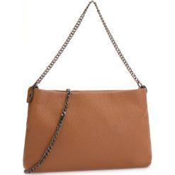 Torebka CREOLE - K10574  Koniak. Brązowe torebki klasyczne damskie Creole, ze skóry, bez dodatków. Za 129,00 zł.