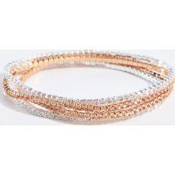 Bransoletki damskie: Metaliczne bransoletki – Wielobarwn